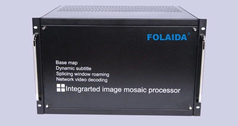 FOLAIDA Video Wall Controller/ Processor Work Well at International Summits 1