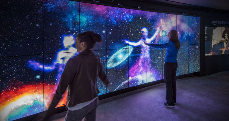 video wall experience