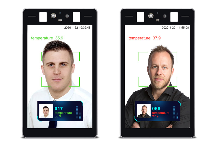 Body Temperature Kiosk with Face Recognition 3