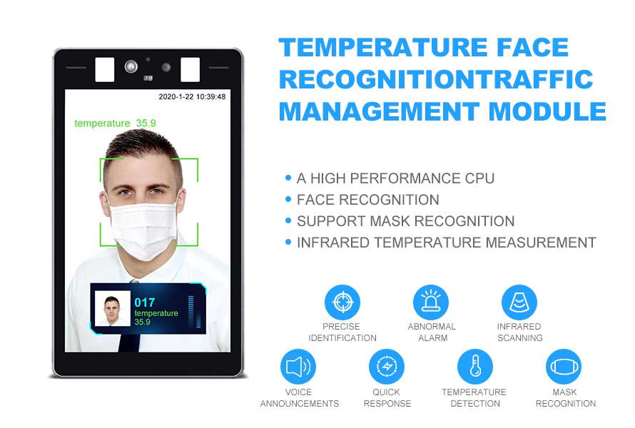 Body Temperature Kiosk with Face Recognition 2