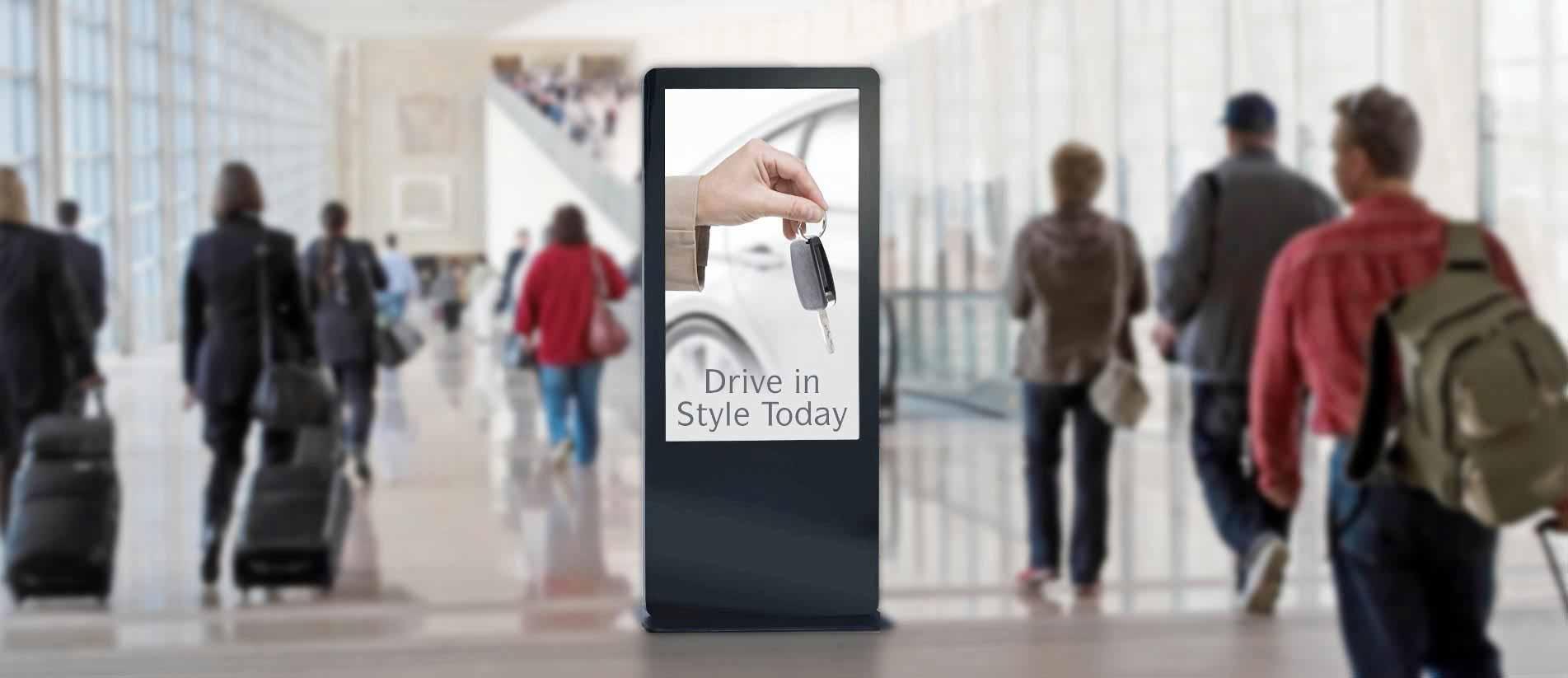 Kiosk Digital Signage 1