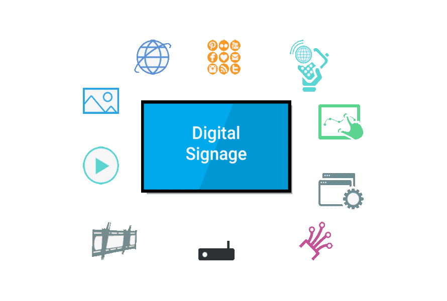 Wall Mount Digital Signage 5